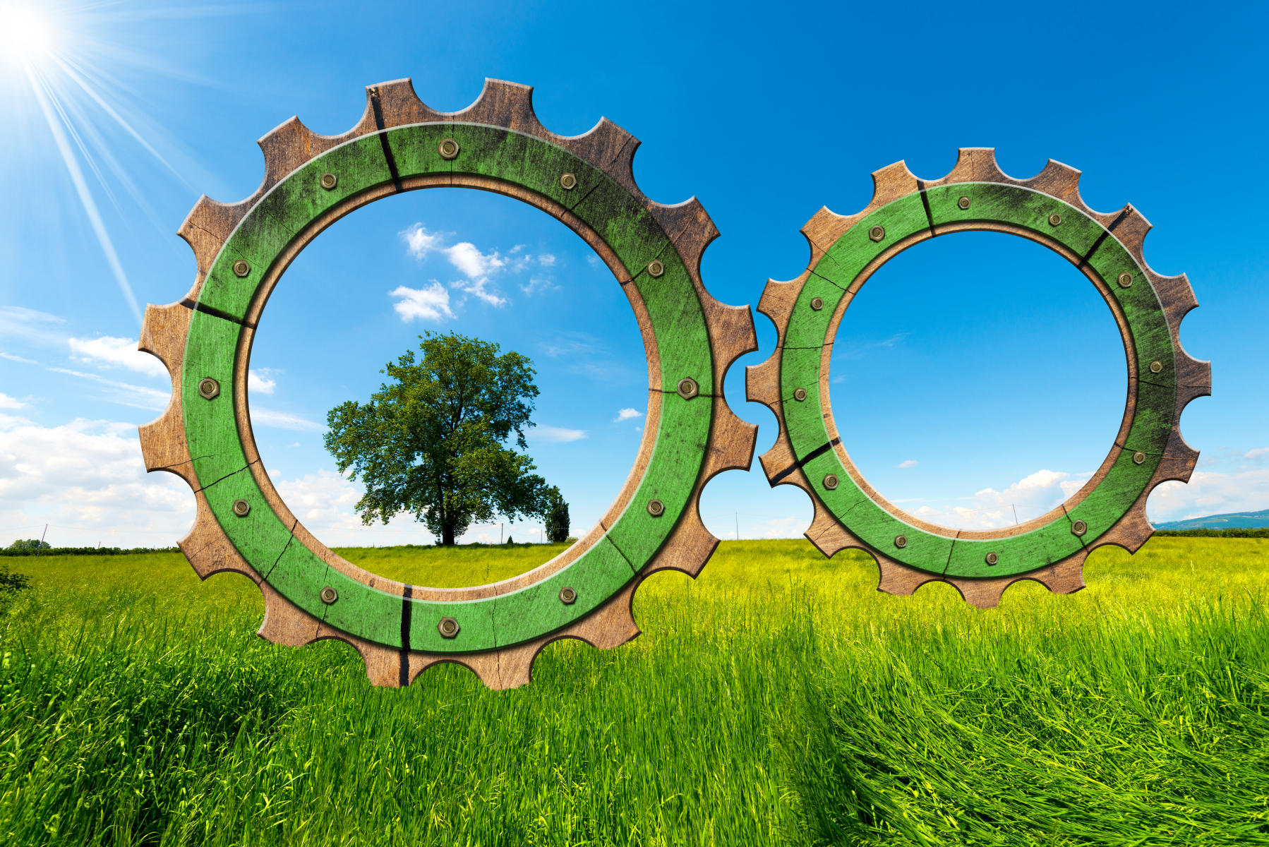 Green economy gears in countryside