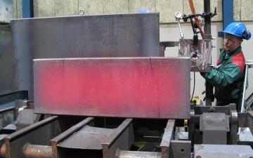Glödande stål