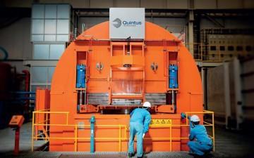 Stor het isostatisk press från Quintus Technologies