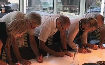 Signering av avtal