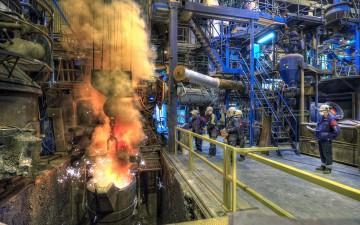Metallurgiska testbäddar på Swerea MEFOS