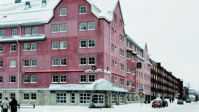 Kall vinterdag i Luleå