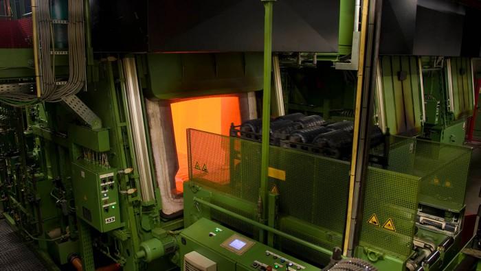 Case-hardening of steel