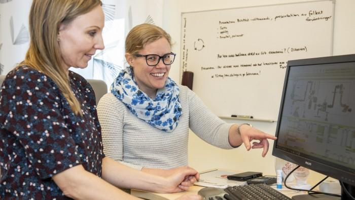 Sara Rosendahl och Katarina Lundkvist