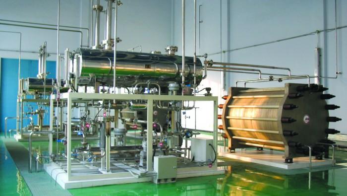 Typisk alkalisk elektrolysanläggning. Foto: HydrogenPro